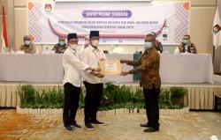 KPU Batam Resmi Tetapkan Rudi-Amsakar Pimpin Kota Batam Periode Kedua