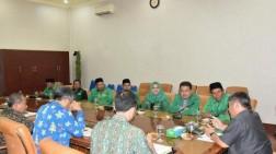Kunjungi Pemkab Deli Serdang, DPC Partai PPP Ingin Sinergikan Program Kerja