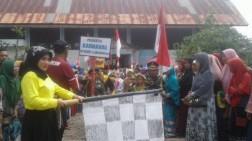Labuhanhaji Gelar Karnaval Pawai Adat Meriahkan HUT RI