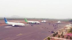 Landasan Pacu Rusak, Penerbangan di Bandara H.AS Hanandjoedin Terganggu