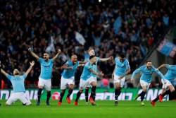 Lewat Adu Penalti, Manchester City Juara Piala Liga Inggris