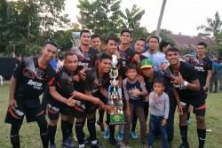 Lewat Drama Adu Penalty, PSPHW Gobah Angkat Tropi Turnamen RESTA CUP 2019