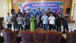 Liswarti Pimpin LPM Kecamatan Binawidya, Ketua LPM Wanita Pertama di Pekanbaru