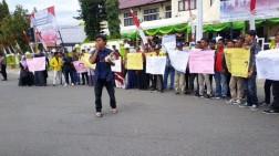 Mahasiswa Aceh Barat Demo Solidaritas untuk Papua, Berikut Sejumlah Poin Tuntutan