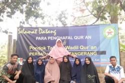MAM Lakitan Pesisir Selatan kirim delapan santri ke Pondok Tahfidz Wadil Quran Tangerang