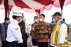 Menteri PUPR Kunjungi Kesiapan Jalan Tol Pekanbaru-Padang