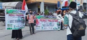 Milenial Kampar Galang Dana Bela Palestina, Afdhal: Ini Yang Dapat Kami Lakukan