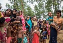 Militer Myanmar Dilaporkan Tembaki Desa-Desa di Rakhine