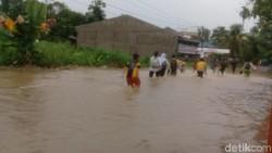 Musim Penghujan, 8 Kecamatan di Kota Jambi Tergenang Banjir