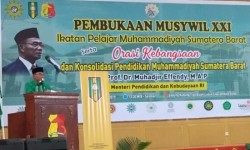 Muswil IPM Sumbar XXI Resmi Dibuka di Solok, Ini Pesan Mendikbud Muhadjir Effendy