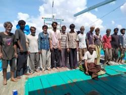 Nelayan Iran Terdampar di Aceh Dilarang Imigrasi Turun Dari Kapal