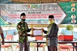 Pada Diklatsar, Hamdani Semangati KOKAM Muhammadiyah Riau