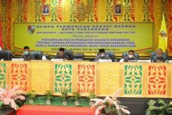 Pada Paripurna LKPj 2020, DPRD Pekanbaru Soroti Penurunan PAD