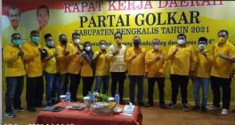 Partai Golkar Kabupaten Bengkalis Gelar Rapat Kerja Daerah Tahun 2021
