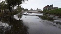Pasang Laut Masih Meluap di Suak Indrapuri Aceh Barat