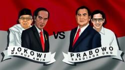 Pasar Menunggu Hasil Debat Kandidat Kandidat Capres