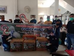 Peduli Dengan Petugas Kesehatan Penanganan Covid-19, FORCI Riau Sumbangkan APD Melalui IDI Riau