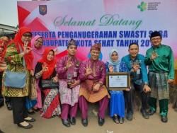 Pekanbaru Raih Anugerah Swasti Saba Kategori Padapa Tahun 2019