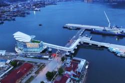 Pelabuhan Megah dan Artistik Terbaik Asia di Sibolga Diresmikan