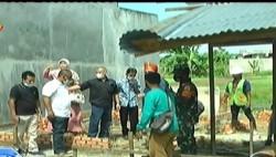 Peletakan Batu Pertama Pembangunan RLH Bantuan CSR di Kelurahan Sidomulyo Barat