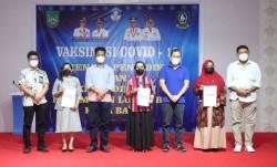 Pemko Batam Telah Vaksin 3.424 Guru se-Batam, Berharap Kelancaran Belajar di Kelas
