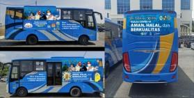Pemko Pekanbaru Luncurkan 5 Bus Vaksin Keliling, Masyarakat Cukup Tunjukkan KTP
