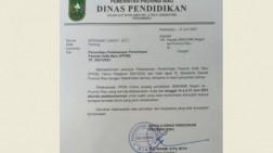 Pendaftaran PPDB 2021 untuk SMA dan SMK di Riau Ditunda