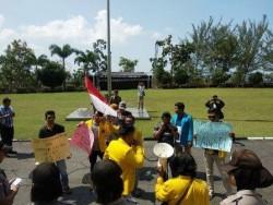 Pengangkatan Direktur PT TMB Tuai Protes Mahasiswa Tanjungpinang