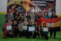 Perguruan Pencak Silat Surya Sakti Padang Juara Pencak Silat Piala Kepala Sekolah SMK MUTI Pekanbaru