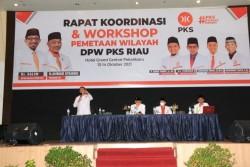 Perkokoh Posisi PKS Jelang Pemilu 2024, DPW PKS Riau Gelar Rakorwil dan Pemetaan Wilayah
