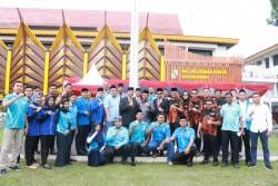 Pimpinan DPRD Pekanbaru Ikuti Apel Peringatan HUT Sumpah Pemuda Ke-91