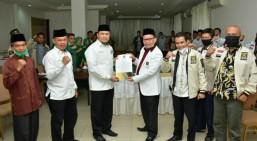 PKS-PPP Deklarasikan Pasangan Abi Bahrun-Herman Untuk Bengkalis 'Aman'