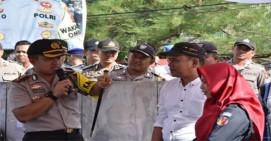Polres Tanjungpinang Gelar Simulasi Pengamanan TPS