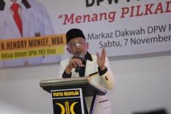 Presiden PKS Roadshow ke Riau, Instruksikan Aleg Turun Menangkan Calon di Pilkada