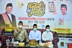 Presiden PKS Sampaikan 3 Kebiasaan Baru 'New Normal' Kader PKS di Acara Halal Bi Halal PKS Riau