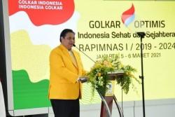 Rapimnas I Golkar, Airlangga: Kita Harus Koalisi Untuk Menang Pemilu 2024
