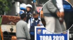 Rekaman Petugas Dishub Pungli Tukang Becak saat Operasi Zebra Toba 2019