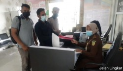 Repdem Kampar Laporkan Dugaan Pemalsuan Data Penerima BLT di Desa Ganting Salo