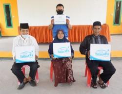 Rumah Yatim Berikan Bantuan Mushalla dan Santunan Da'i di Desa Pambang Pesisir Riau
