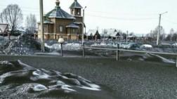 Rusia Diselimuti Salju Hitam