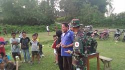 Satgas TMMD ke-106 Kodim 0309/Solok Goro dan Bakti Kesehatan Bersama