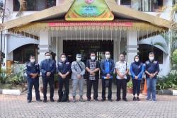 Selesaikan Persoalan Tumpahan Minyak di Perairan, DLH Batam Kerjasama Dengan Interpol Indonesia
