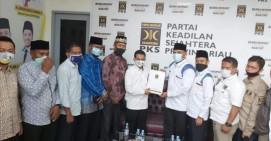 Serahkan SK, PKS Resmi Usung Edi Sepen - Zainal Abidin di Pilkada Dumai 2020