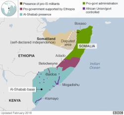 Serangan Bersenjata di Somalia Tewaskan 26 Orang di Hotel