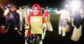 Siswi MAS Alampanjang Raih Juara I Cabang Qiraat Murattal Remaja Pada MTQ Tingkat Kota Pekanbaru