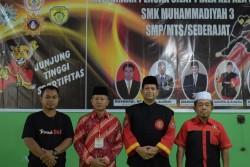 SMK Muhammadiyah 3 Terpadu Pekanbaru Sukses Gelar Kejuaraan Pencak Silat Tingkat SMP