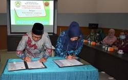 SMK Muhammadiyah 3 Terpadu Pekanbaru Tandatangani Kerjasama dengan Politeknik Kampar