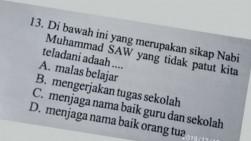 Soal Ujian SD di Solok Dinilai Lecehkan Nabi Muhammad, Polisi Periksa Semua Pihak