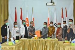 Sosialisasi dan Bangun Kerjasama, KPU Kunjungi DPD PKS Pekanbaru