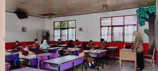 Sudah Satu Pekan Berjalan, Belajar Tatap Muka di SD Negeri 164 Pekanbaru Berjalan Lancar
